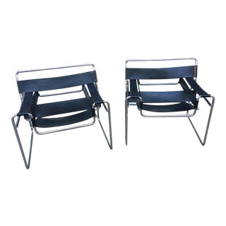 Wassily Chair Designed by Marcel Breuer for Knoll- One Still Available! For Sale