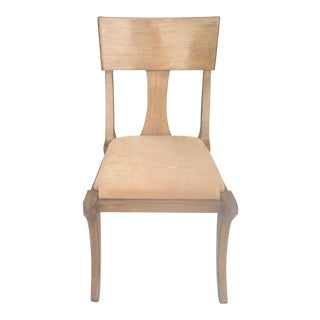Modern Klismos Style Chair For Sale