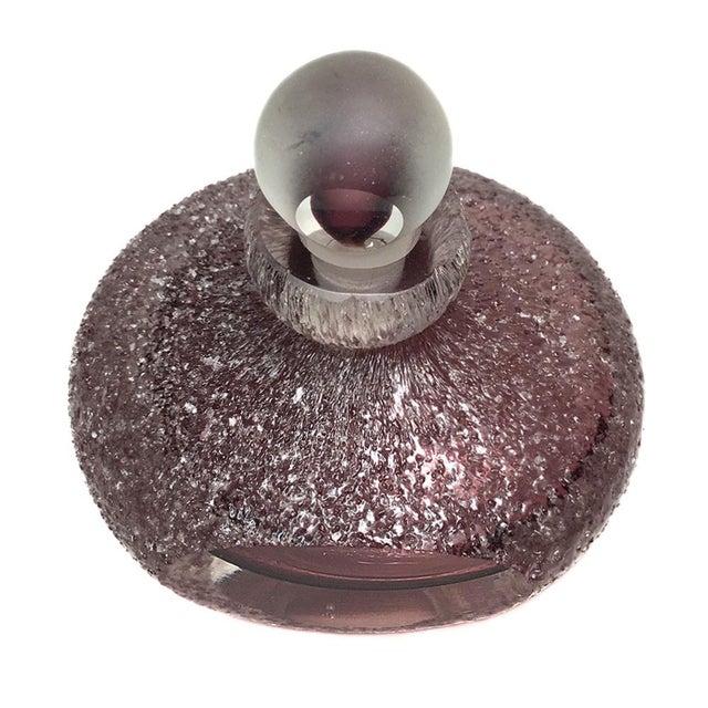 Textured Lavender Perfume Bottle - Image 2 of 4