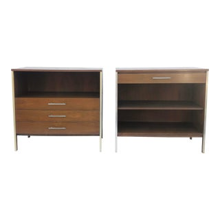 Pair of Paul McCobb Cabinets for Calvin Furniture, Linear Group For Sale
