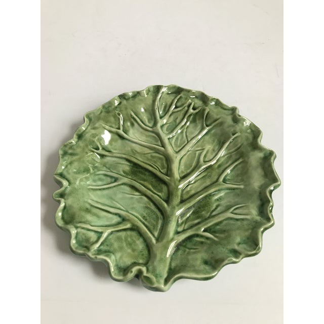 Cabbage Leaf Serving Plate - Image 4 of 8
