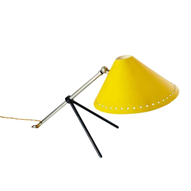 """""""Pinocchio"""" Desk or Wall Lamp by H.Th.J.A. Busquet For Sale"""