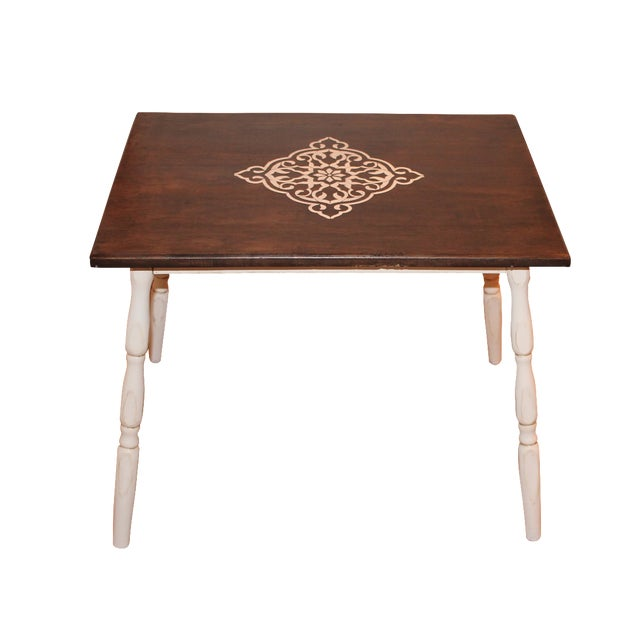 Rustic Side Table - Image 1 of 7