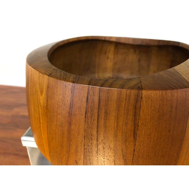 Wood Jens Quistgaard Staved Teak Bowl by Dansk For Sale - Image 7 of 9