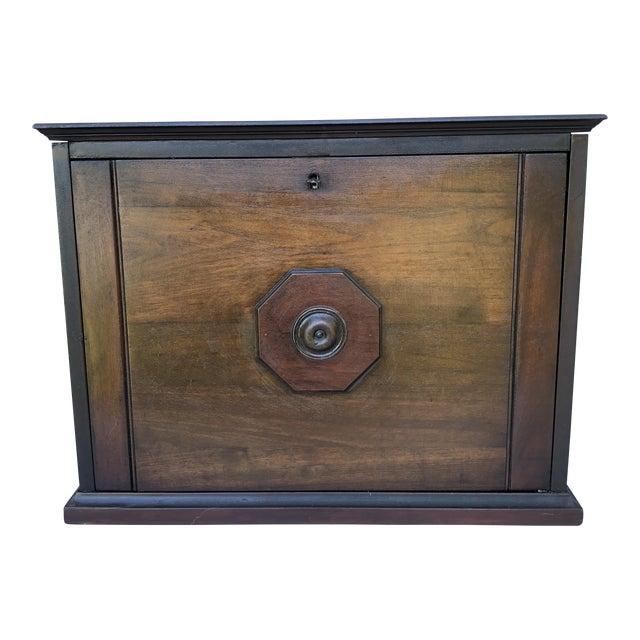 Antique Solid Wood Desk For Sale