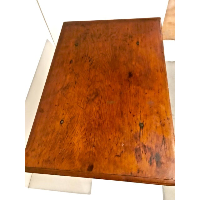 Brown 1790 Traditional Tavern Center Table For Sale - Image 8 of 12