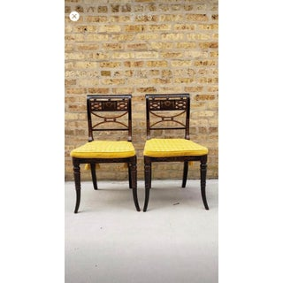 Antique Chairs & Accent Table - Set of 3 Preview
