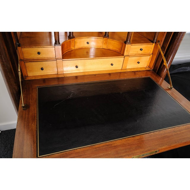 French Empire Secretaire a Abattant Secretary Desk by Ipolito Ceri, Circa 1817 For Sale In West Palm - Image 6 of 11