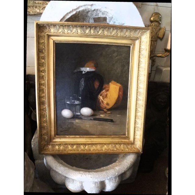 French Still Life 19th Century Painting For Sale - Image 11 of 11