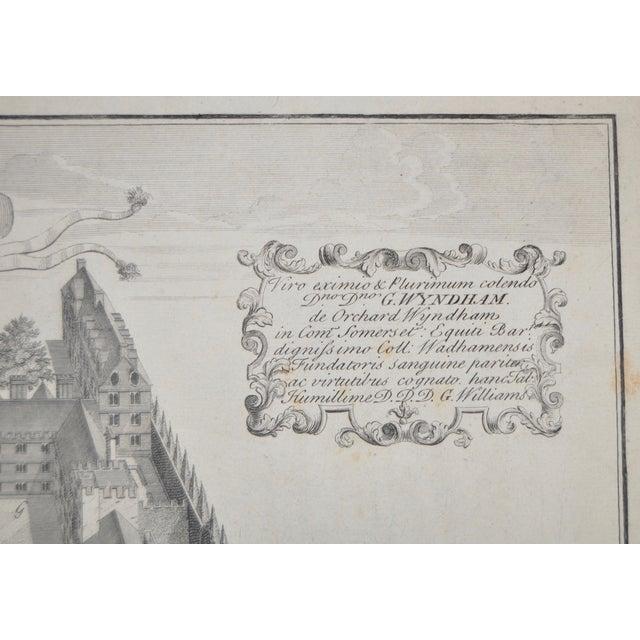 Rare Birdseye View of Wadham College Engraving - Image 4 of 10