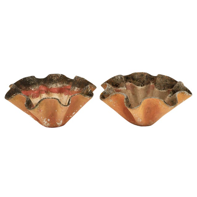 """Mid-Century """"Mouchoirs"""" Jardinieres by Willy Guhl - a Pair For Sale"""