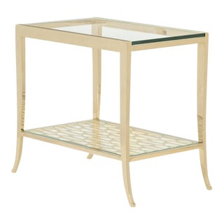 Modern Caracole A Precise Pattern End Table For Sale
