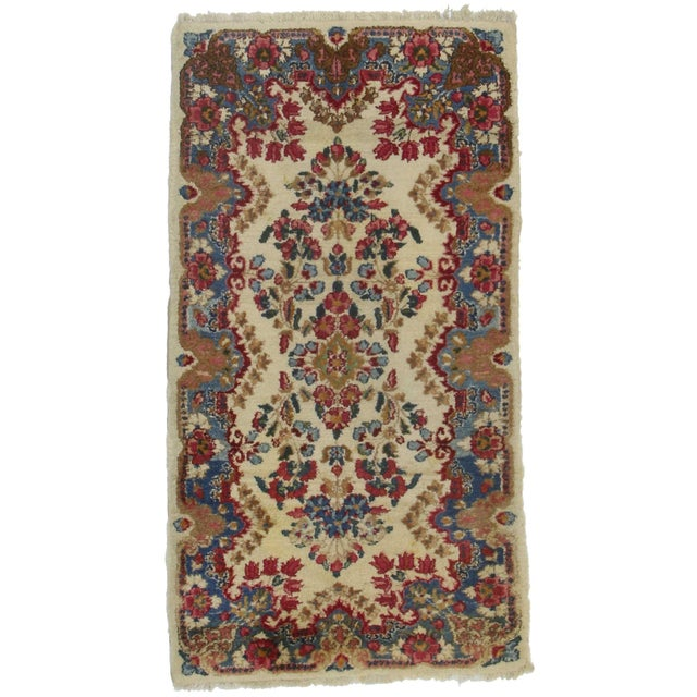RugsinDallas Persian Kerman Hand Knotted Wool Rug - 2′3″ × 4′2″ - Image 1 of 2