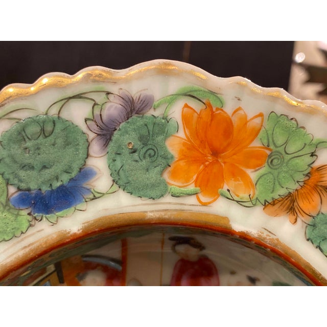 19th Century Famille Rose Shrimp Dish For Sale - Image 5 of 10