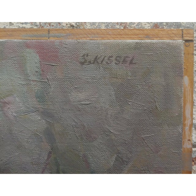 1960s Stevan Kissel - Group of Apache Renegades - Oil Painting For Sale - Image 5 of 8