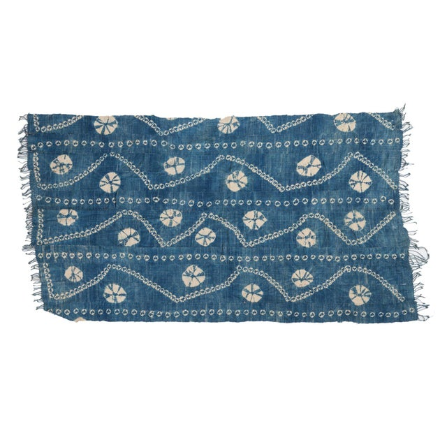 """Vintage African Textile Throw - 3'2"""" X 5'7"""" - Image 1 of 5"""