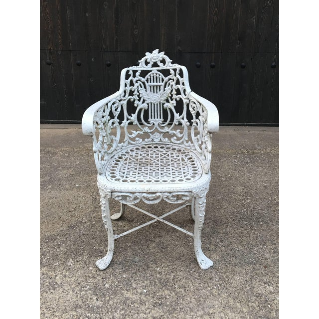 Traditional Robert Wood Foundry Cast Iron Seven-Piece Garden Set For Sale - Image 3 of 10