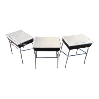 Mid-Century Heywood-Wakefield School Desk - Set of 3 For Sale