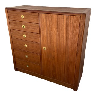 dSCAN 12 Drawer Gentlemen's Chest Highboy Dresser For Sale