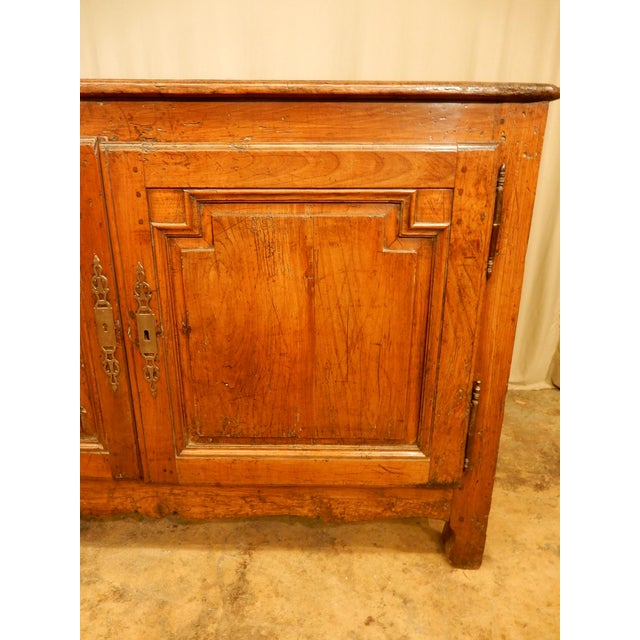 18th Century French Provincial Walnut Buffet For Sale - Image 4 of 8