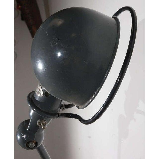 Vintage Jielde Factory French Industrial Metal Lamp For Sale In Los Angeles - Image 6 of 10