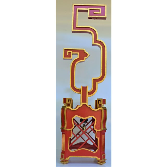 Wood Custom Wooden Chinoiserie Pagoda Lantern, Designed by George Weinle For Sale - Image 7 of 13