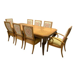 Century Furniture Table + Eight Dining Chairs For Sale