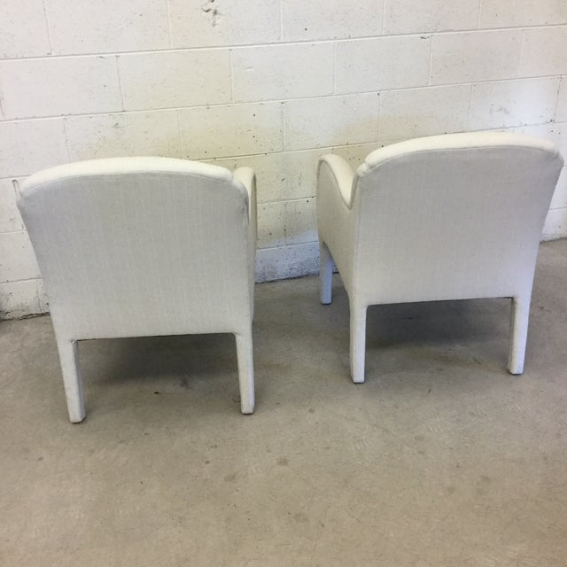 Contemporary Modernist Arm Chairs - a Pair For Sale - Image 4 of 10