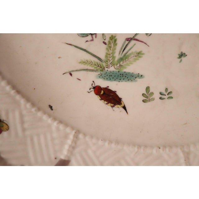 18th Century Porcelain Plate Signed Meissen With Kakiemon Decoration, 1740s For Sale - Image 9 of 13