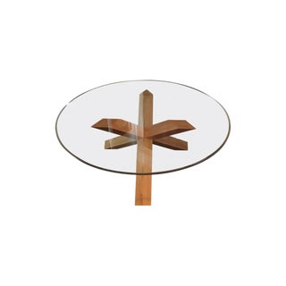 Mario Bellini 452 La Rotonda Glass Table