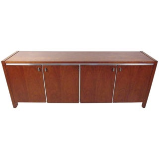 Vintage Modern Credenza by Founders For Sale