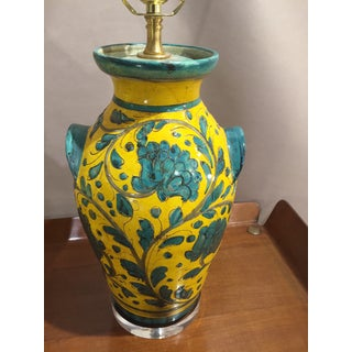 Mid-Century Italian Ceramic Lamps - a Pair Preview