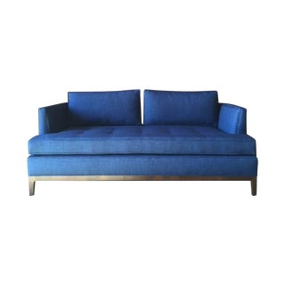 Mid-Century Style Custom Love Seat Sofa For Sale
