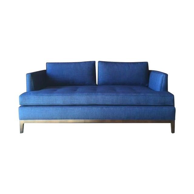 Mid Century Style Sofa: Mid-Century Style Custom Love Seat Sofa