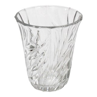 Val St. Lambert Crystal Vase For Sale