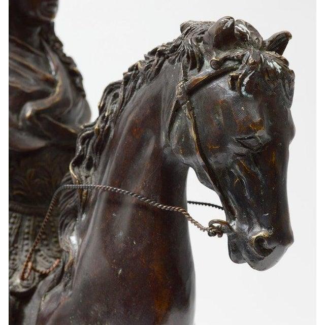 Bronze Rider on Horseback - Image 4 of 4
