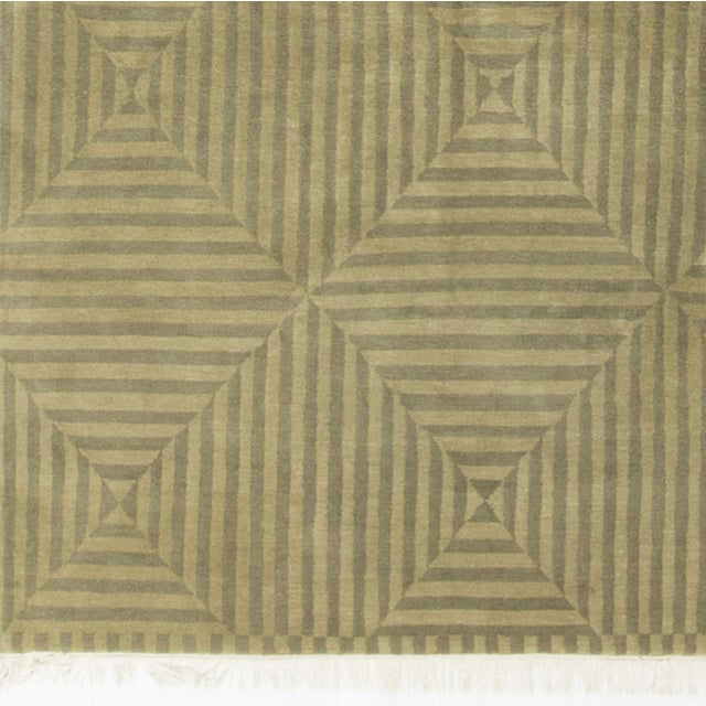 Modern Hand-Knotted Wool Rug - 8′9″ × 12′8″ - Image 4 of 4
