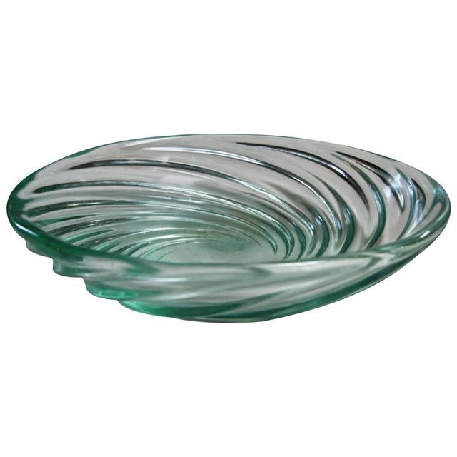"Archimede Seguso Bowl ""Vetro a COSTA,"" Murano, 1951 For Sale - Image 5 of 5"