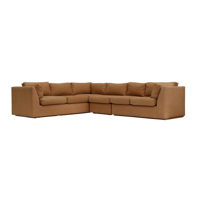 Modern 3-Piece Sectional Sofa For Sale