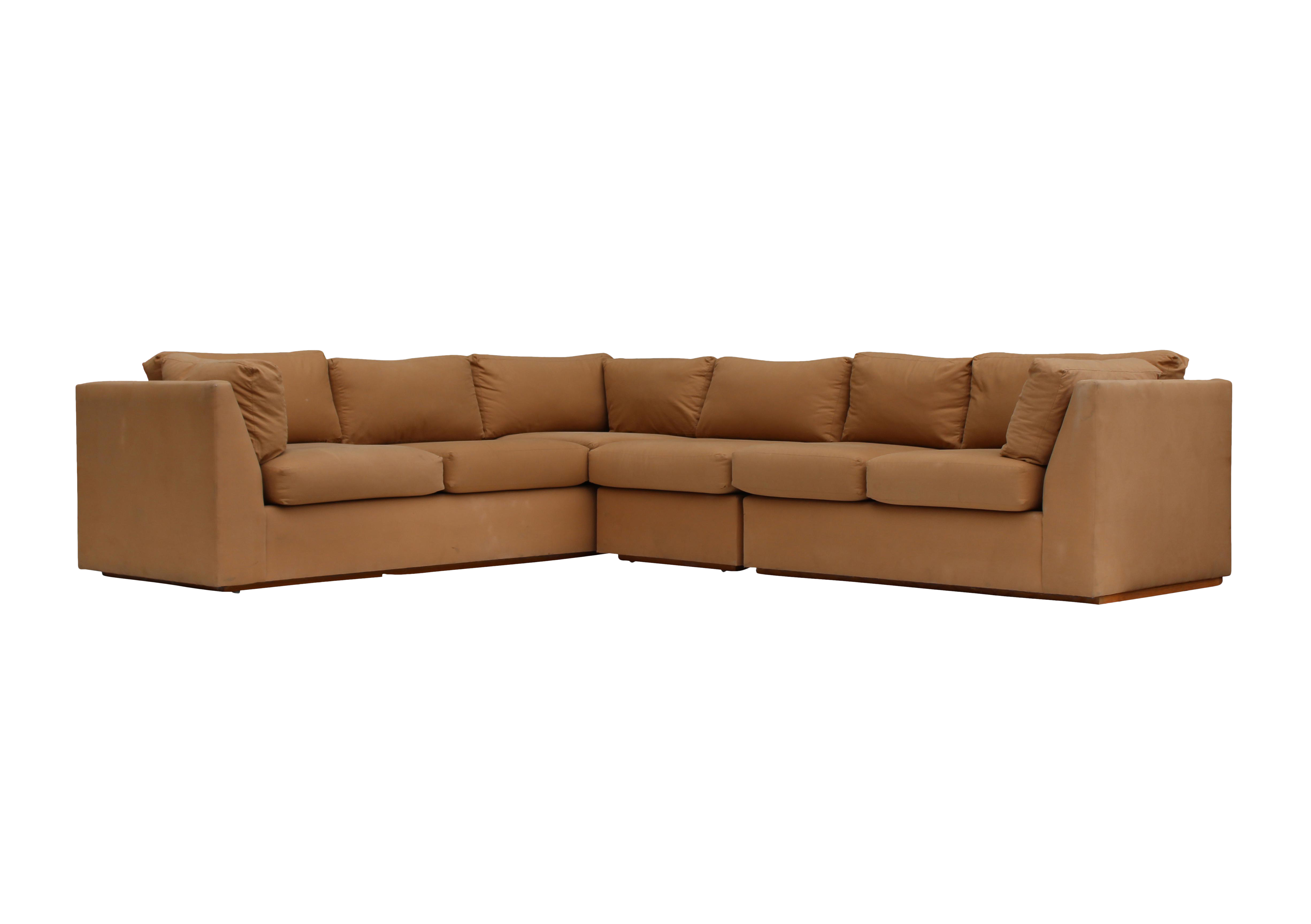 Modern 3 Piece Sectional Sofa For Sale