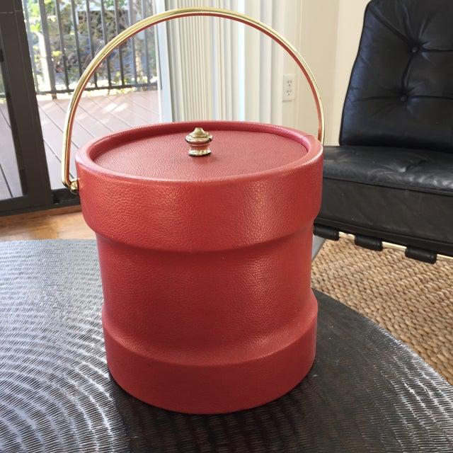 Vintage Kraftware Ice Bucket For Sale In Chicago - Image 6 of 8