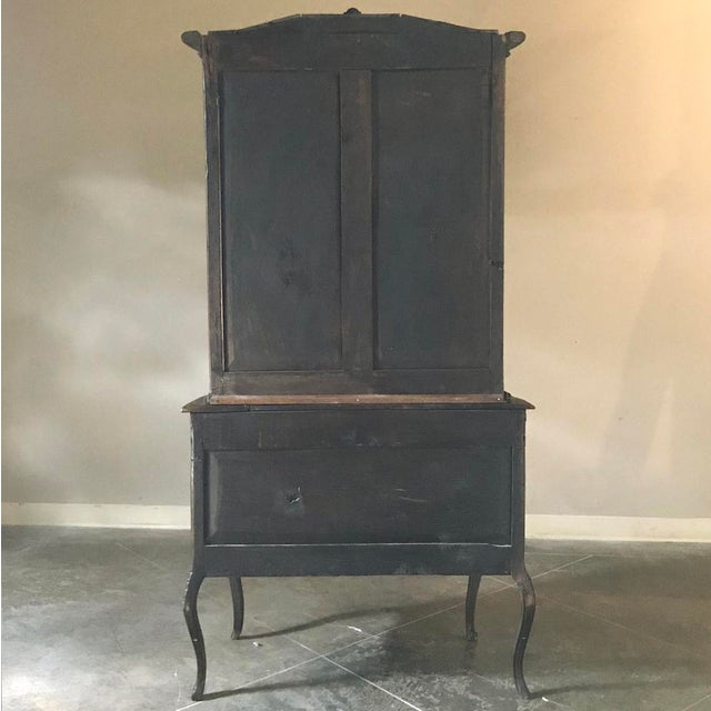 19th Century Country French Vitrine ~ Bookcase For Sale - Image 12 of 13