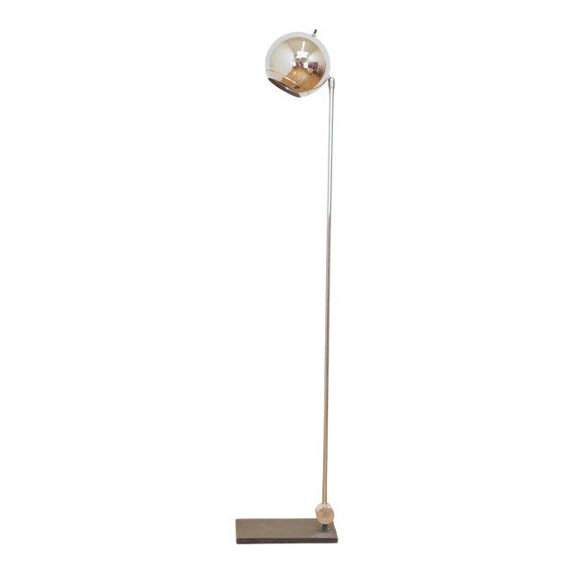 1970s Robert Sonneman Orb Floor Lamp For Sale