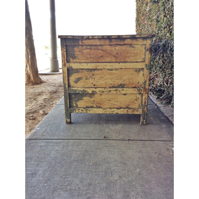 Vintage Shabby Chic Desk For Sale In Los Angeles - Image 6 of 10