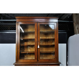 1900's French Antique China / Library Cabinet Preview