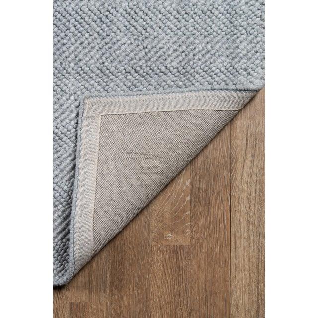 Erin Gates by Momeni Ledgebrook Washington Grey Hand Woven Area Rug - 5′ × 8′ For Sale In Atlanta - Image 6 of 8