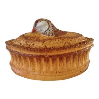 French Pillivuyt Porcelain Bird Tureen