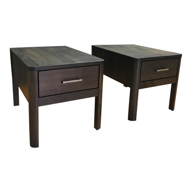 Scandinavian Designs Harald End Tables - Pair - Image 1 of 11