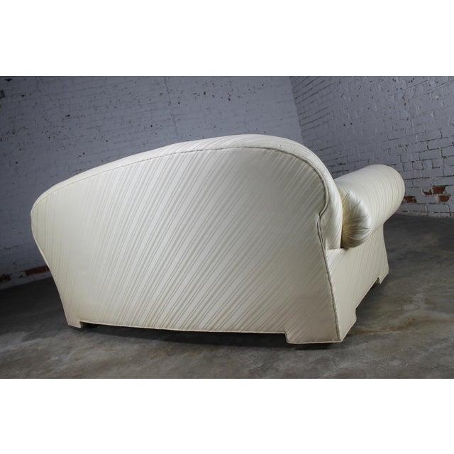 1976 Vintage White Donghia Sofa - Image 5 of 11