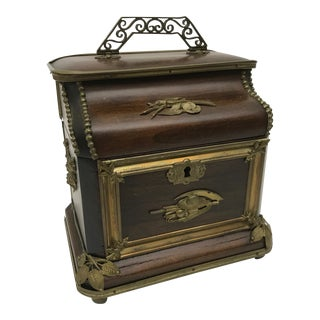 Antique French Jewelry Box For Sale